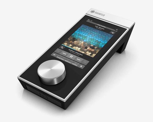 Raumfeld multi-touch remote control
